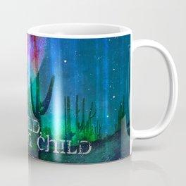 Stay Wild Desert Aurora Coffee Mug