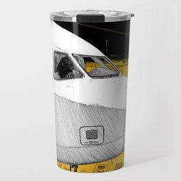 asc 698 - Le tarmac la nuit (Your flight was delayed due to technical problems) Travel Mug
