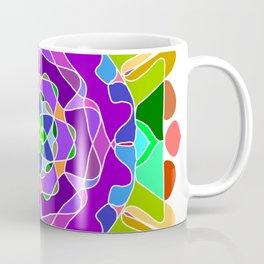 Abstract festive colorful mandala Coffee Mug