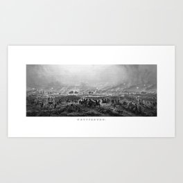 Gettysburg -- Civil War Art Print