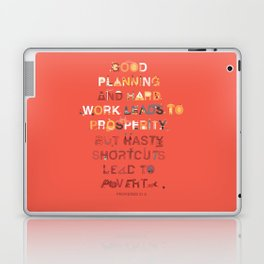 Good planning Laptop & iPad Skin