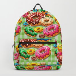 Donuts Party Time Backpack