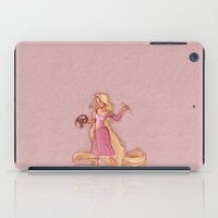 rapunzel iPad Cases featuring Rapunzel by Laia™