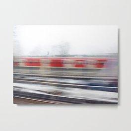 rail flyby II Metal Print