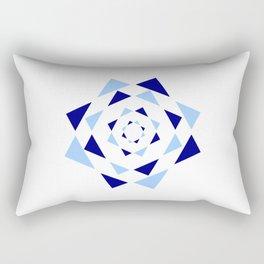 Star of David 37- Jerusalem -יְרוּשָׁלַיִם,israel,hebrew,judaism,jew,david,magen david Rectangular Pillow