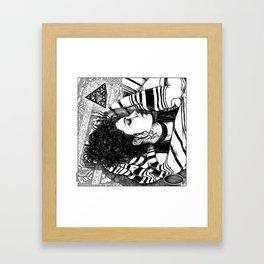 asc 726 - Le rêve berbère (Desert fever) Framed Art Print