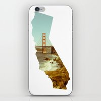 california iPhone & iPod Skins featuring California by Gabriel Sul