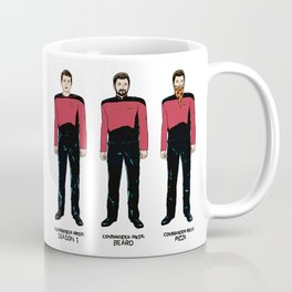 Stages of Riker Coffee Mug