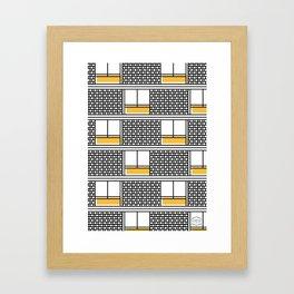Hotel Montserrat -Detail- Framed Art Print
