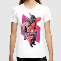 yaoi T-shirts featuring 80s Fashion by kami dog