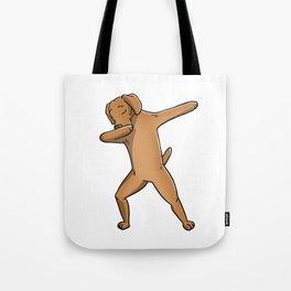 Funny Dabbing Vizsla Dog Dab Dance Tote Bag