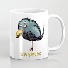 Creepy crow - Nevermore Coffee Mug