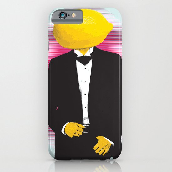 Lemonhead iPhone & iPod Case