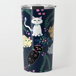 Garden Kitties Travel Mug
