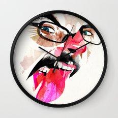 Lengua Wall Clock