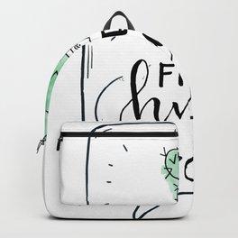 Cactus Free Hugs Backpack