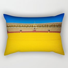 Bullring arena Rectangular Pillow