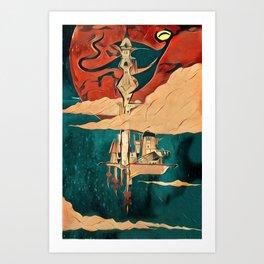 Peepers Kingdom Art Print