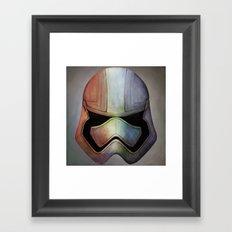 Chromium Framed Art Print