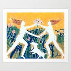 Primavera 2 Art Print