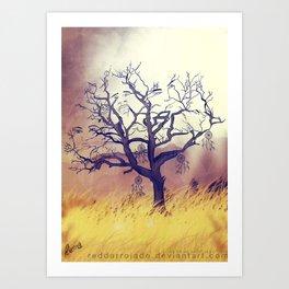 Solumn Art Print
