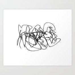 Circles°11 Art Print
