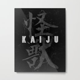 KAIJU Metal Print
