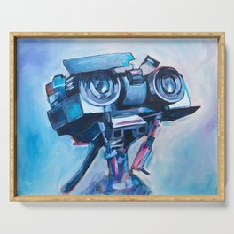 Johnny 5 Serving Tray