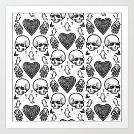 Ghostly Dreams II Art Print