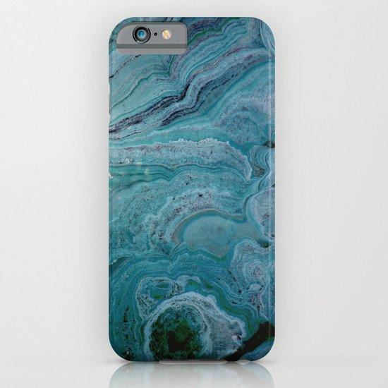 Blue stalactite iPhone & iPod Case