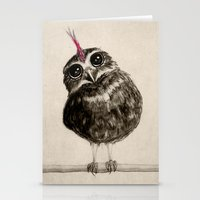 punk Stationery Cards featuring Punk by Isaiah K. Stephens