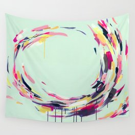 Life Aquatic - Abstract painting by Jen Sievers Wall Tapestry