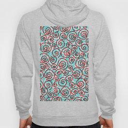 Pattern hypnotized Hoody