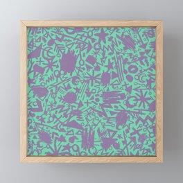 Synapses Framed Mini Art Print