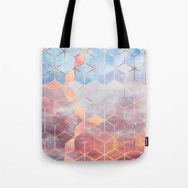 Magic Sky Cubes Tote Bag
