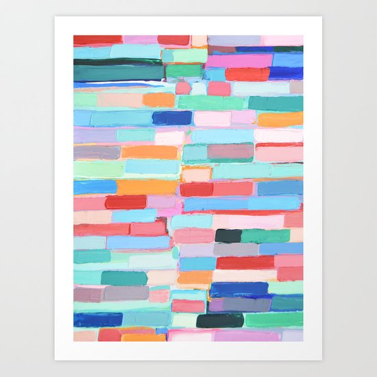 Internodal Path Art Print