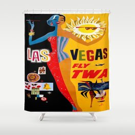 Vegas Shower Curtains