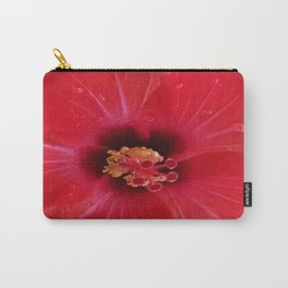 FIERY RED Carry-All Pouch