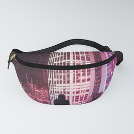 City Hall Rainy Night Fanny Pack