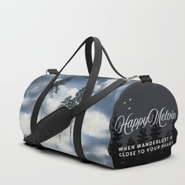 Forest sailing Duffle Bag