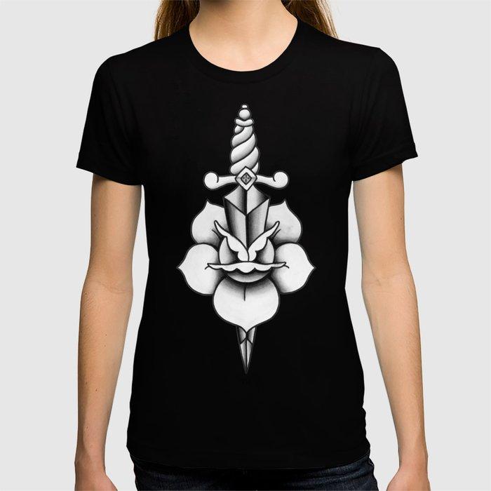 Black & Grey Dagger T-shirt