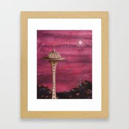 Watch Towers Framed Art Print