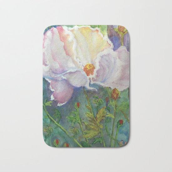 Beautiful Flower Bath Mat