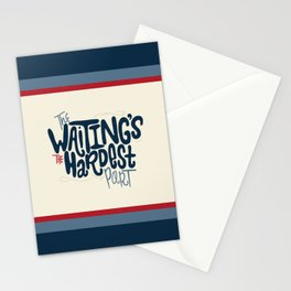 Hardest Part Stationery Cards