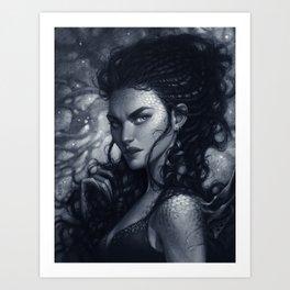 Thymara the Dragon Keeper Art Print