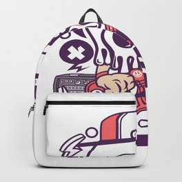 Rock Skullfor animated characters comics and pop culture lovers Backpack