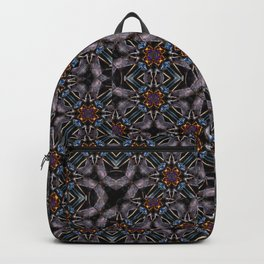 Chic Fractal Ornate Print Pattern Backpack