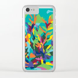 Tropic Paradise Clear iPhone Case