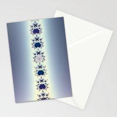 Purple Necklace Stationery Cards