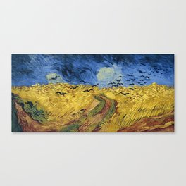 Wheatfield with Crows by Vincent van Gogh Canvas Print